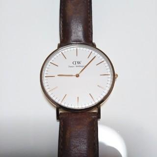 ダニエルウェリントン(Daniel Wellington)のDW  腕時計 40mm(腕時計(アナログ))