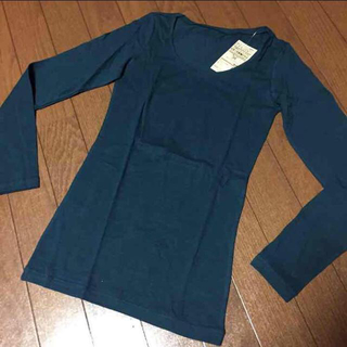 ムジルシリョウヒン(MUJI (無印良品))の新品 無印ぬくもり長袖☆(Tシャツ(長袖/七分))