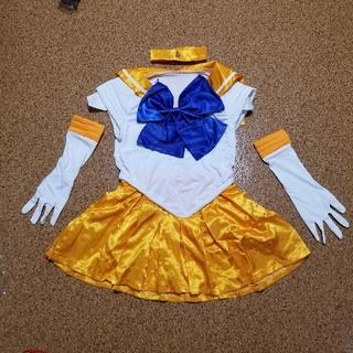 セーラームーン(セーラームーン)のセーラーヴィーナスコスプレセット ハロウィン 仮装 セーラームーン(衣装)