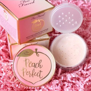 トゥフェイス(Too Faced)のPeach Perfect Mattifying Setting Powder (フェイスパウダー)