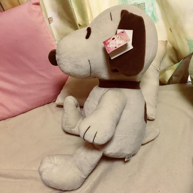 スヌーピー ぬいぐるみ エンタメ/ホビーのおもちゃ/ぬいぐるみ(ぬいぐるみ)の商品写真