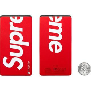 シュプリーム(Supreme)のSupreme 15AW mophie spacestation (バッテリー/充電器)