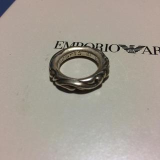 クロムハーツ(Chrome Hearts)のまもなく取り下げ クロムハーツ スクロールバンドリング(リング(指輪))