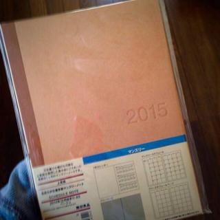 ムジルシリョウヒン(MUJI (無印良品))の無印♡2015年マンスリーノート(その他)