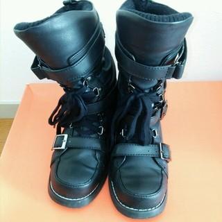 アンレリッシュ(UNRELISH)のUNRELISH 黒ブーツ(ブーツ)