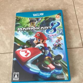 ウィーユー(Wii U)のマリオカート8☆wiiU(家庭用ゲームソフト)