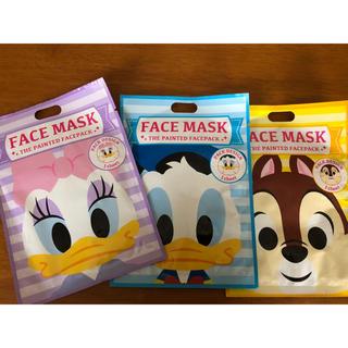 ディズニー(Disney)のディズニー フェイスパック 新品(パック / フェイスマスク)