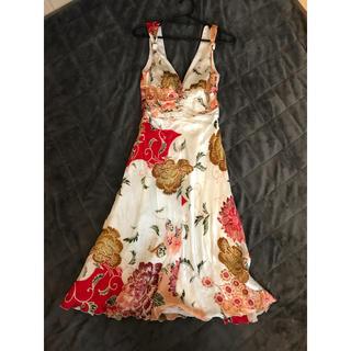 アルマーニ 和柄ドレス