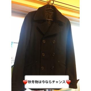 ジーユー(GU)のGU メンズ コートジャケット(ピーコート)