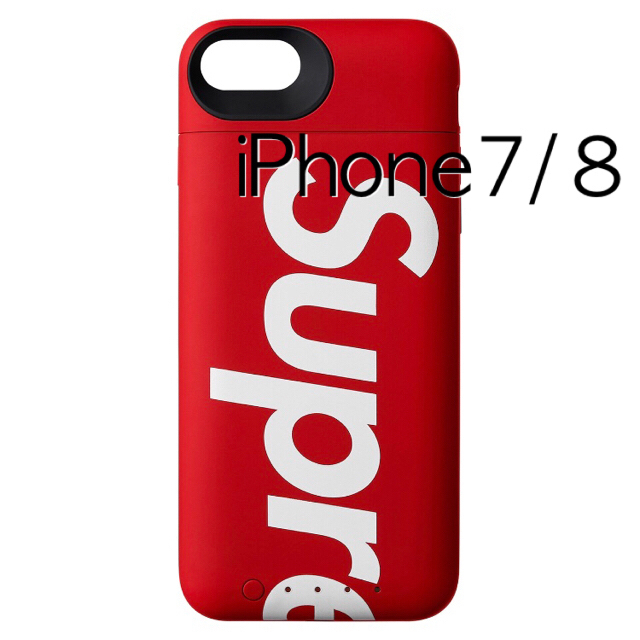 iphone6 ケース 白 - Supreme - Supreme mophie iPhone 8 Juice Pack Air Rの通販 by しのぴ3's shop|シュプリームならラクマ