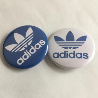 アディダス(adidas)のアディダス adidas 缶バッジ バッヂ ピンバッジ(バッジ/ピンバッジ)