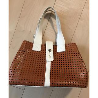 サンクセンスオム(les cinq sens HOMME)のブランドバッグがこの価格♡LES SACE ADAM網目トートバッグ♡(トートバッグ)