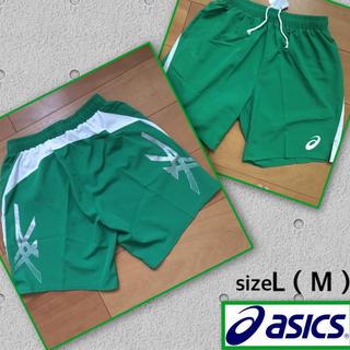 アディダス(adidas)の新品 アシックス ゲームパンツ L(M)(バレーボール)