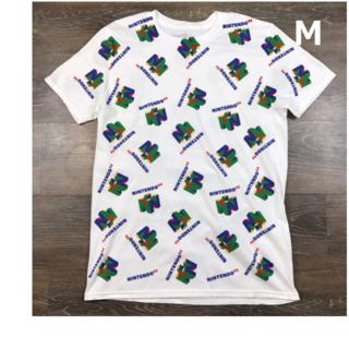 ニンテンドー64 オフィシャル Nロゴ Tシャツ 【M】 新品 180613