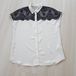 エポカ(EPOCA)のBIANCA  EPOCA レースシャツ(Tシャツ(半袖/袖なし))