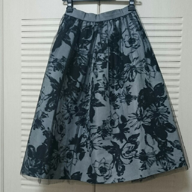 FRAY I.D(フレイアイディー)のフレイアイディー チュールスカート レディースのスカート(ロングスカート)の商品写真