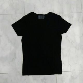 ダブルジェーケー(wjk)のwjk/Tシャツ/ブラック(Tシャツ/カットソー(半袖/袖なし))
