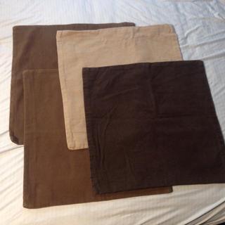 ムジルシリョウヒン(MUJI (無印良品))の無印良品 クッションカバー 計4点(クッションカバー)