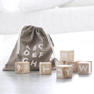 キャラメルベビー&チャイルド(Caramel baby&child )の【KIKI様専用】oohnoo アルファベットブロック(積み木/ブロック)