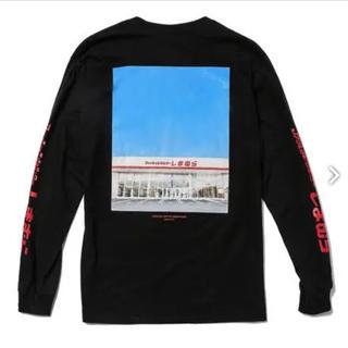 シマムラ(しまむら)のしまむら ゾゾタウン 長袖Tシャツ 黒 オープン記念限定! メンズS(Tシャツ/カットソー(七分/長袖))