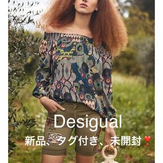 デシグアル(DESIGUAL)の新品 定価11,900円 デシグアル チュニック  ブラウス  S、L(チュニック)