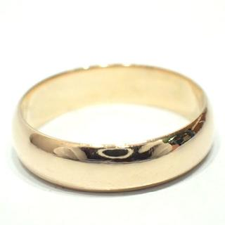 E122 中古 K18 リング 指輪 3.2g 11号 イエローゴールド(リング(指輪))