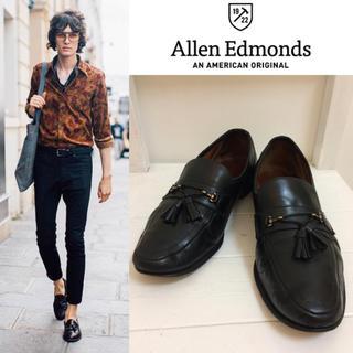 アレンエドモンズ(Allen Edmonds)のAllen Edmonds アレンエドモンズ USA製 タッセルレザーローファー(ドレス/ビジネス)