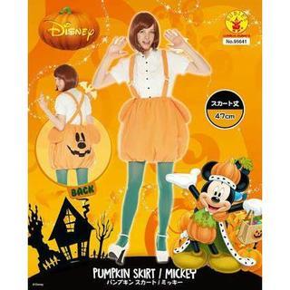 ディズニー(Disney)のミッキー★パンプキン★スカート(ミニスカート)