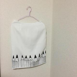 メリージェニー(merry jenny)のメリージェニー♡えんぴつモチーフがかわいいスカート(ひざ丈スカート)