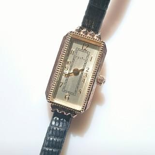 アガット(agete)の定価68000円❇️agete アンティーク 華奢ウォッチ  アガット(腕時計)