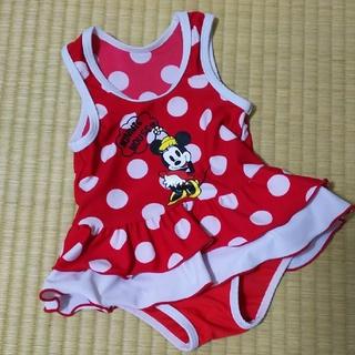 Disney - 再々値下げ!Minnie☆ドット柄水着☆80cm
