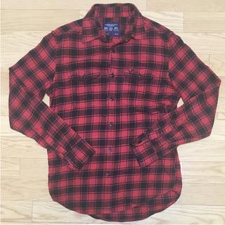 アメリカンイーグル(American Eagle)のアメリカンイーグル チェックシャツ ネルシャツ アスレチックフィット(シャツ)