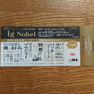 「イグ・ノーベル賞の世界展」ご招待券 東京ドームシティ Gallery AaMo(美術館/博物館)