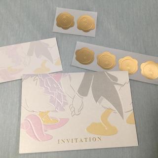 ディズニー(Disney)の結婚式 招待状セット(その他)