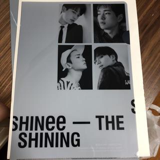 シャイニー(SHINee)のSHINee限定品クリアファイル(K-POP/アジア)