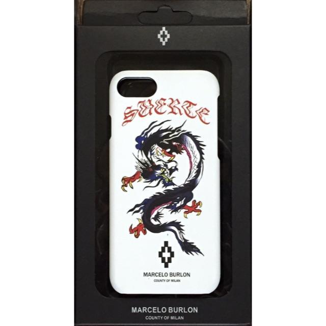 moschino iphonexr カバー 財布 、 MARCELO BURLON - iPhone 7 8 ケース MARCELO BURON マルセロ ブロン 龍の通販 by しのぴ3's shop|マルセロブロンならラクマ