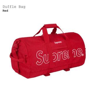 シュプリーム(Supreme)のsupreme 18aw week1 duffle bag red (ドラムバッグ)