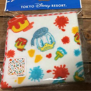 ディズニーリゾート購入♡ドナルド刺繍 ミニタオル