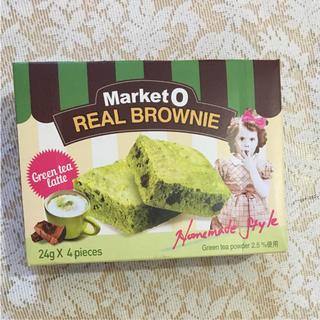 マーケットオー リアルブラウニー グリーンティーラテ(菓子/デザート)