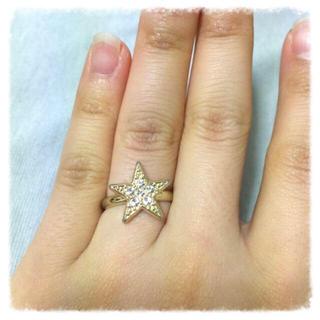 ピンクアドべ(PINK ADOBE)の星型リング💍(リング(指輪))