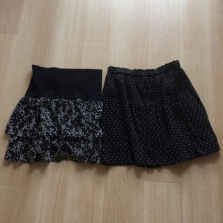 コンクエスト(CONQUEST)のミニスカート 2枚セット ユニクロ コンクェスト(ミニスカート)