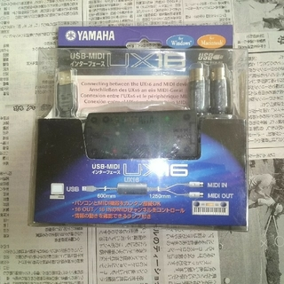 YAMAHA UX-16 MIDI-USB たき様専用(MIDIコントローラー)