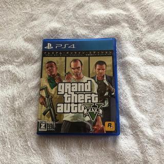 ジーティーアー(G.T.A)のps4  GTA5  プレミアム・オンライン・エディション(家庭用ゲームソフト)