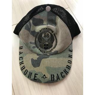 バックボーン(BACKBONE)のバックボーン 迷彩 刺繍キャップ フリーサイズ backbone(キャップ)