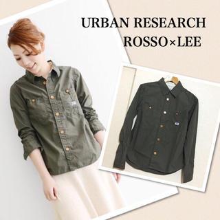 アーバンリサーチ(URBAN RESEARCH)のROSSO×LEEワークシャツ(シャツ/ブラウス(長袖/七分))