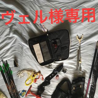 アーチェリー弓具(スポーツ)