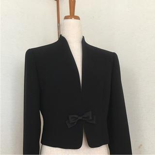 新品   フォーマルブラックジャケット   11号(礼服/喪服)