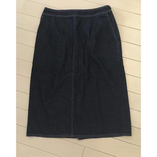 バーバリー(BURBERRY)のBurberry   デニム スカート   38(ひざ丈スカート)