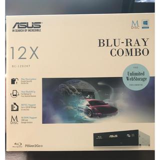 エイスース(ASUS)のASUS ブルーレイコンボドライブ 新古品(PCパーツ)