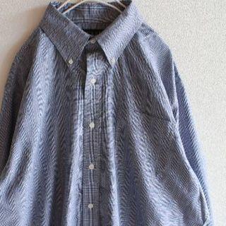 ラルフローレン(Ralph Lauren)のUS ラルフローレン gray チェック シャツ 161/232-33(シャツ)